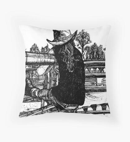 Rodeo Lovin Kasey Throw Pillow
