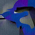 blue dog by Albert