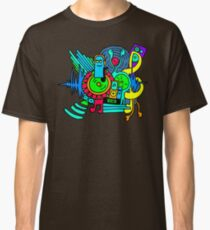 Music Print Classic T-Shirt