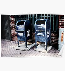 U.S. Mailboxes in Lafayette, Louisiana Poster