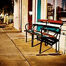 Just a bench in Lafayette by Hugster62