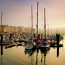 Sailing Yachts Dieppe Harbour, France by Hugster62