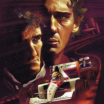 Senna & Prost by rubiohiphop