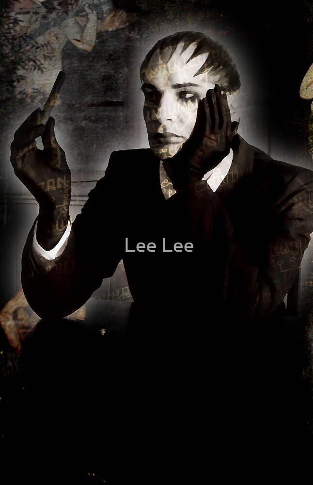 Queer man with cigar by Lee Lee