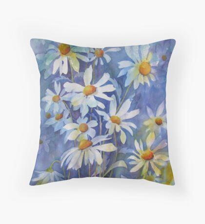 The joy of Daisies Throw Pillow