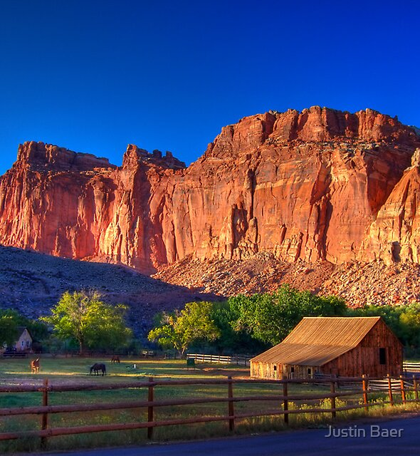 Capitol Reef National Park by Justin Baer