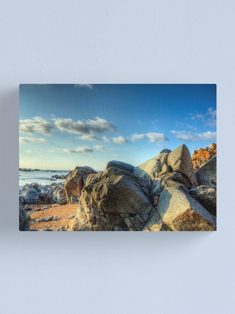 Alternate view of Rocks Near Torgis - Alderney Canvas Print