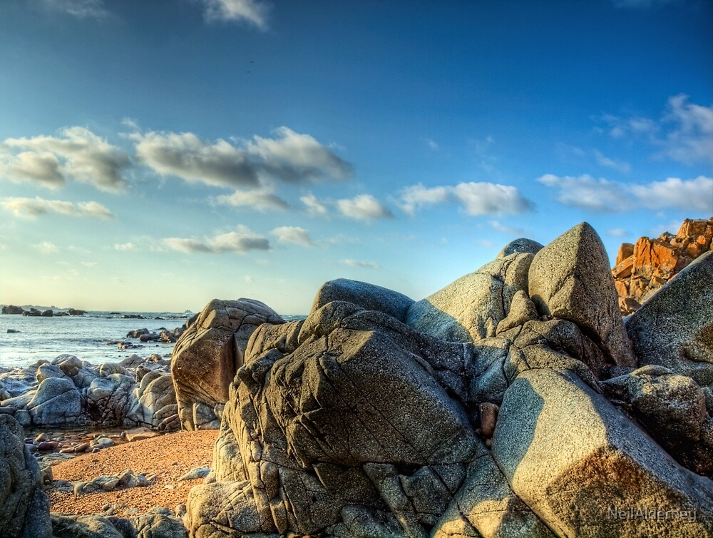 Rocks Near Torgis - Alderney by NeilAlderney