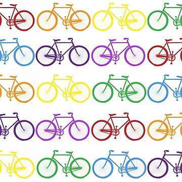 Rainbow Bikes  by BeachCafe