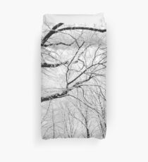 Under the Winter Canopy Duvet Cover