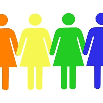Rainbow Women by BeachCafe