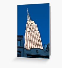 Empire State Building - Print Greeting Card