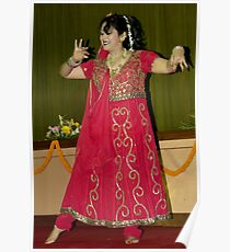 Indian Classical Dance Poster