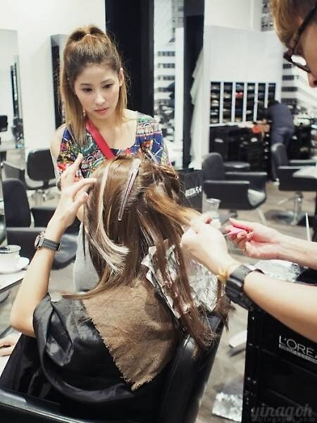 Hair Keratin Treatment Singapore by Kinsingapore