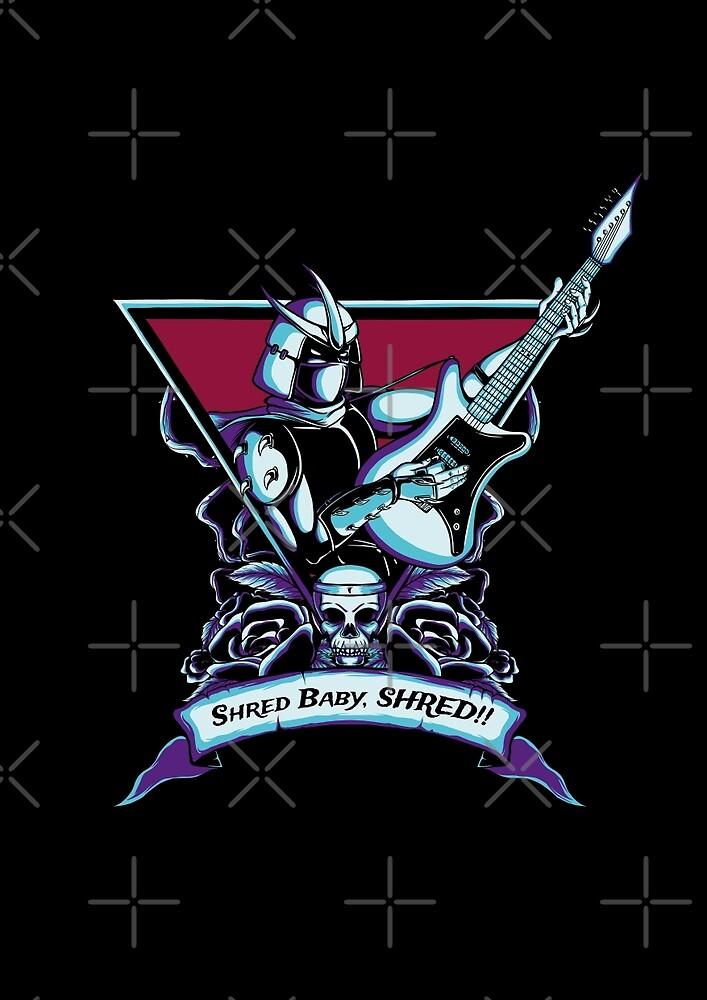 Born To Shred by monochromefrog