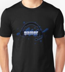 Gamer - Headphones Unisex T-Shirt
