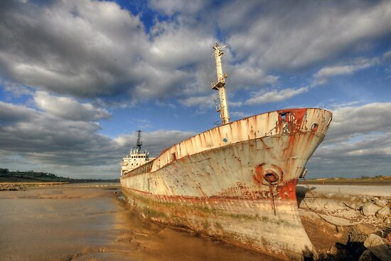 Old Ship by John Quinn