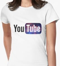 Cosmic YouTube Logo T-Shirt