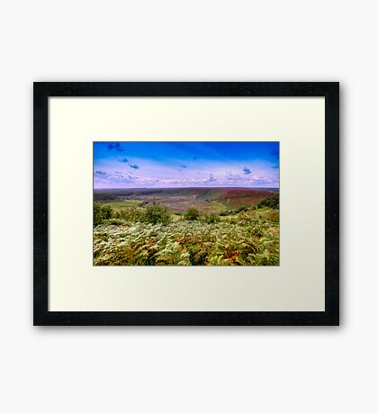 Hole of Horcum Framed Print