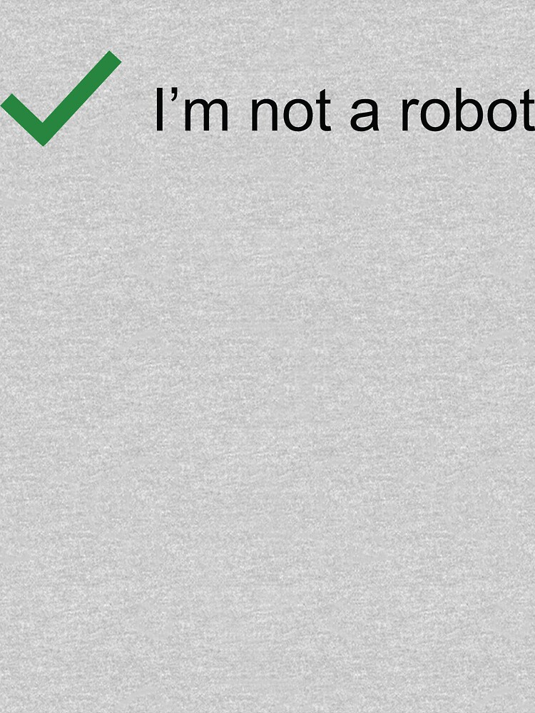 Not Robot by boulevardier