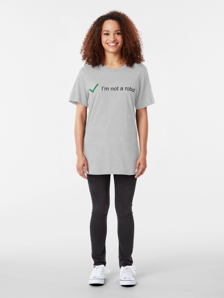 Alternate view of Not Robot Slim Fit T-Shirt