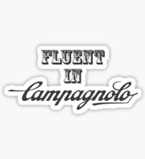 Fluent In Campagnolo Sticker