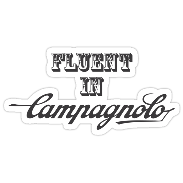 Fluent In Campagnolo by Ipedal