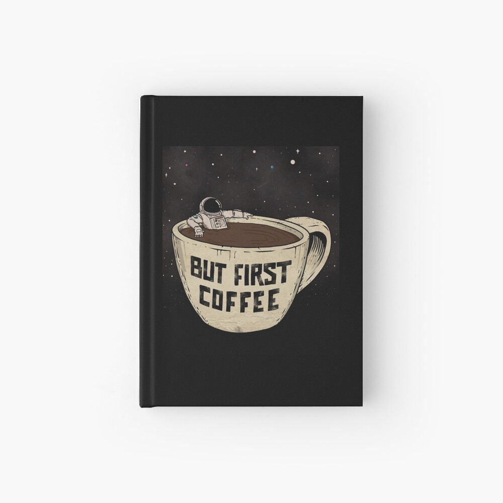 But First Coffee Hardcover Journal