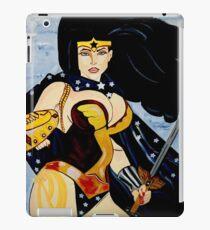 SUPER HERO  SUPER  WOMEN iPad Case/Skin