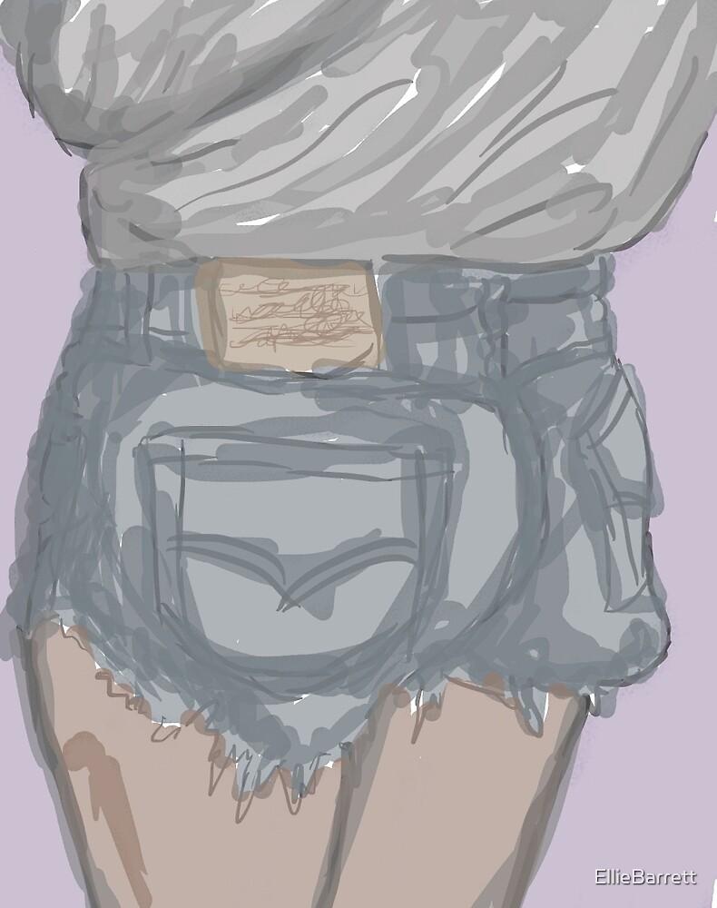Thicke booty shorts inspiration by EllieBarrett