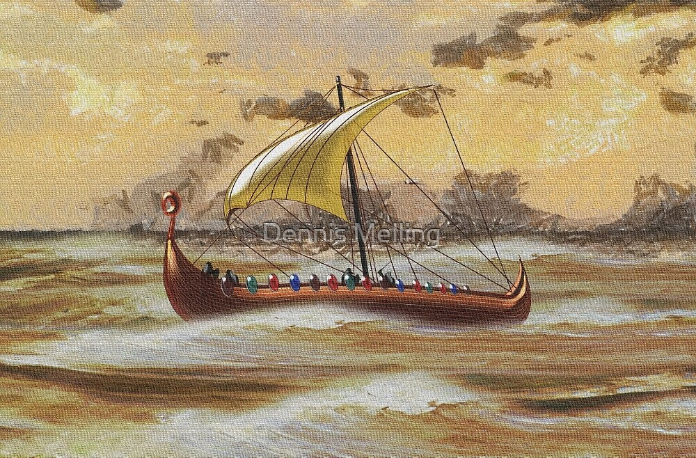 The Discovery of America ca. 1000 by Dennis Melling