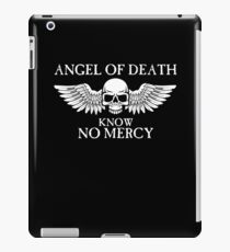 Angel of Death Know No Mercy iPad Case/Skin