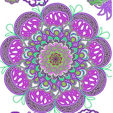 Blooming (Neon Purple) by ZoeN-P
