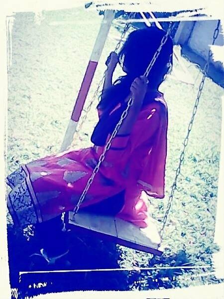 girl Swinging by MaeStyles