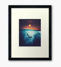 Immergo Framed Print