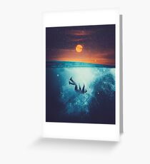 Immergo Greeting Card