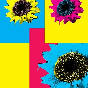Sunflower petals by NicoleH09
