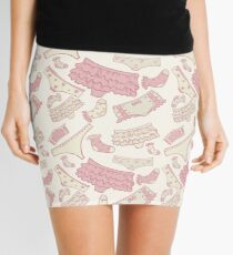 Underwear seamless pattern with other pants and socks. For web design and  other Mini Skirt