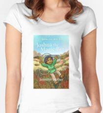 Joshua the Magic Boy (Spellcaster Book 1)  Women's Fitted Scoop T-Shirt