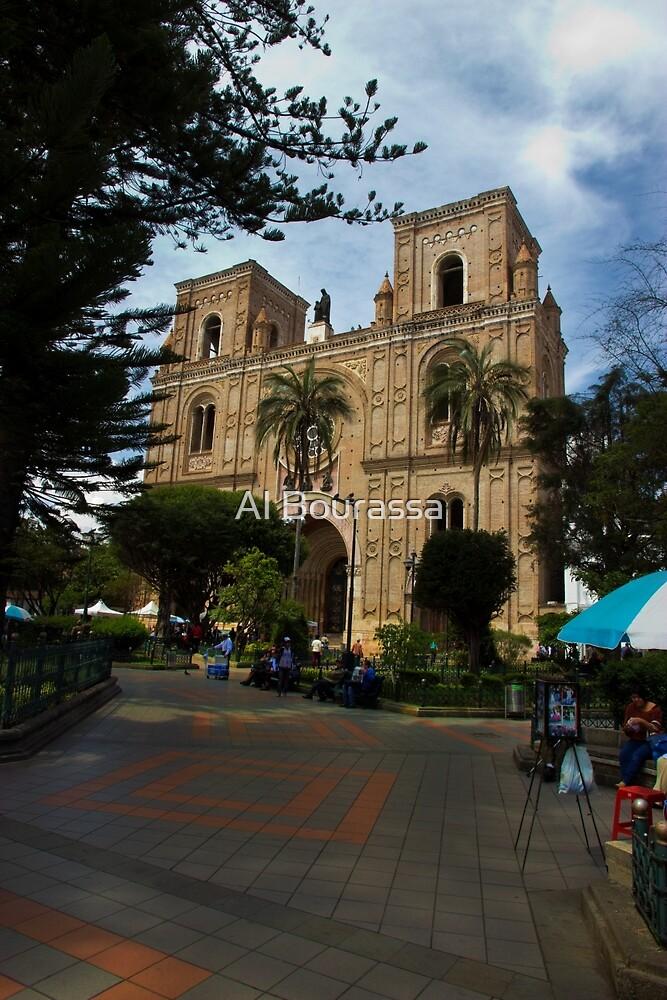 The Magnificent Center Of Cuenca by Al Bourassa