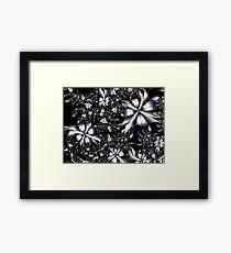 Metalwork Flowers Framed Print