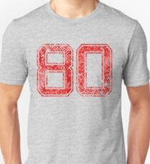 Red 80, Aged, Distressed Unisex T-Shirt
