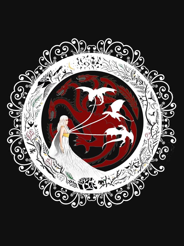 queen dragons by sheeva91