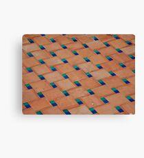 Floor Tile Canvas Print