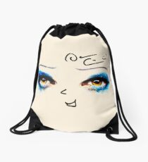 Darren is Hedwig - Signature and mouth Drawstring Bag