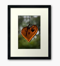 My Heart's Too Big for This Framed Print