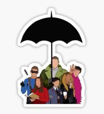 The Umbrella Academy  Sticker