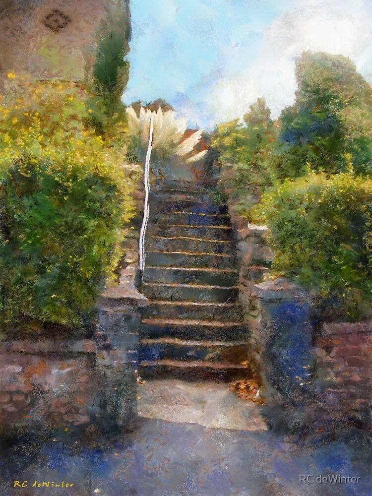 Tipsy Stairs by RC deWinter
