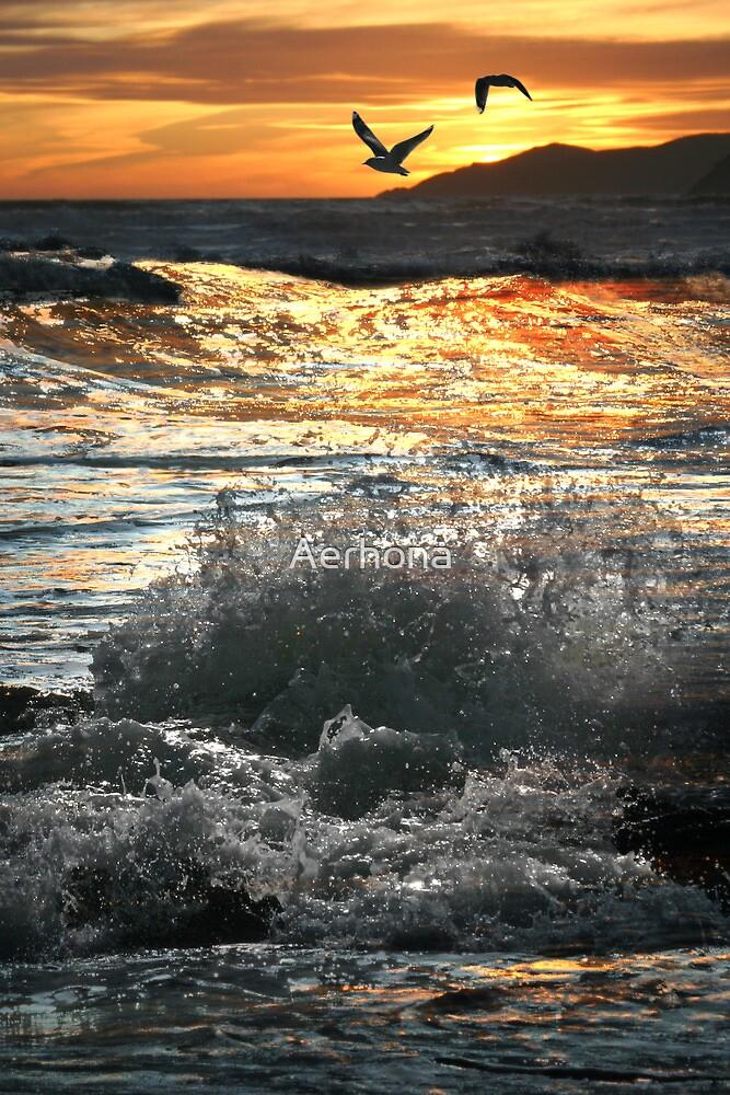 Rough Seas by Aerhona