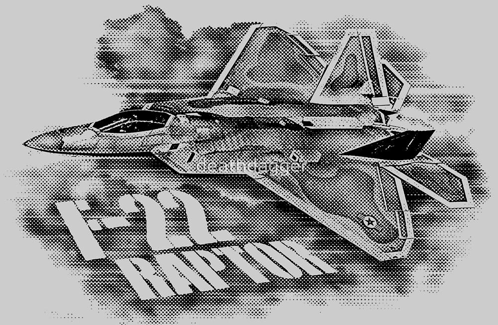 F-22 RAPTOR by deathdagger
